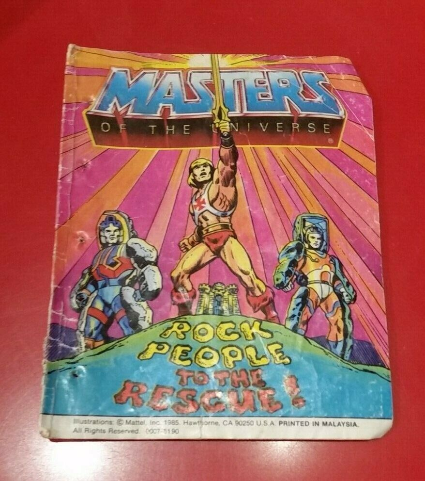 Masters-of-the-Universe-Classics-Mini-comic-book-from-the-1980s-Rock-People-233301259223