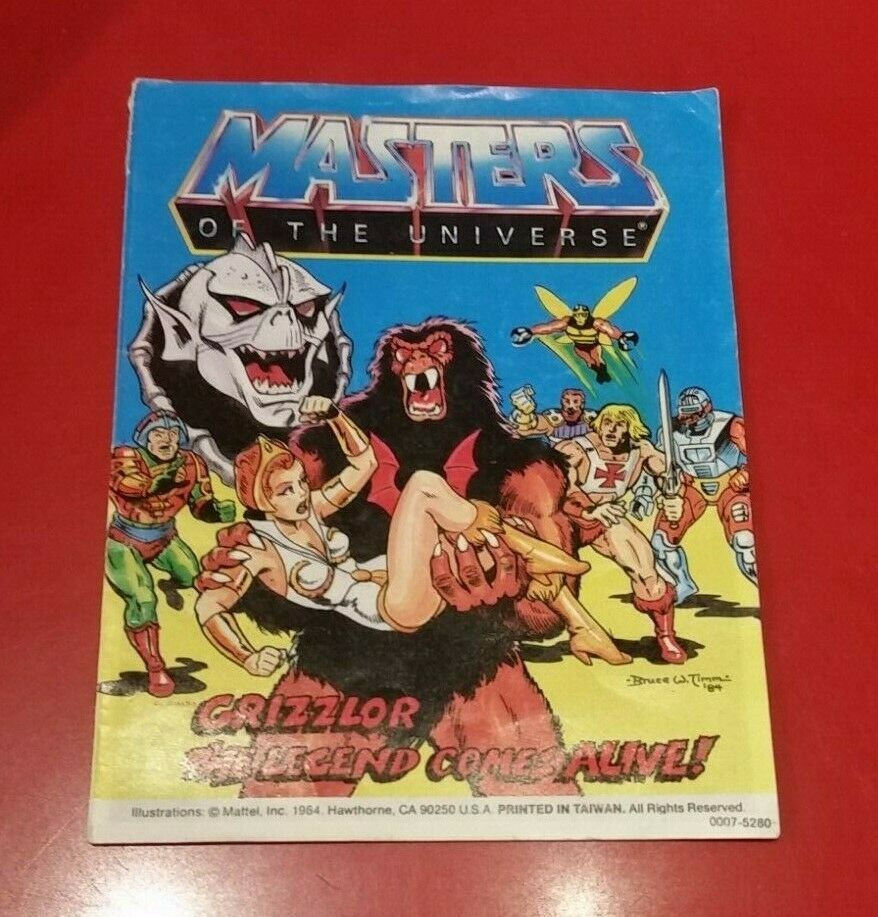 Masters-of-the-Universe-Classics-Mini-comic-book-from-the-1980s-Grizzlor-233301258556